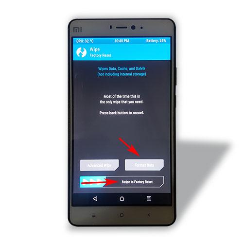 Cách hard reset cho điện thoại Xiaomi nhanh chóng