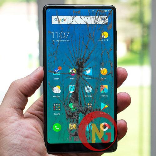 Màn hình Xiaomi Mi Mix bể đốm, loang màu