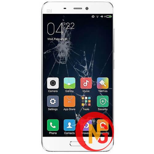 Mặt kính Xiaomi Mi 5s bị vỡ