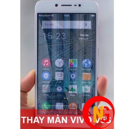Màn hình Vivo V5 bị bể sọc
