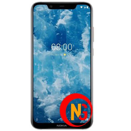 Màn hình Nokia 8 có vết loang