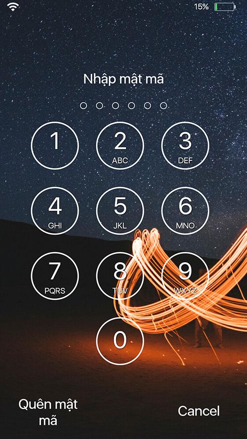 Tạo mật khẩu điện thoại thay đổi theo giờ