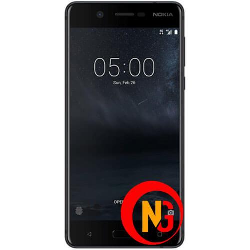 Màn hình Nokia 5 bị đen tối 1 vùng
