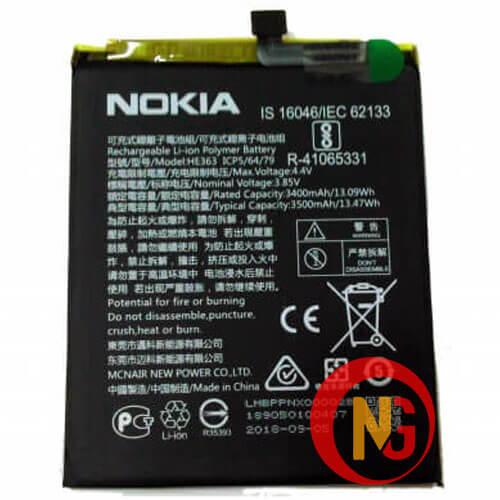 Pin Nokia 8.1