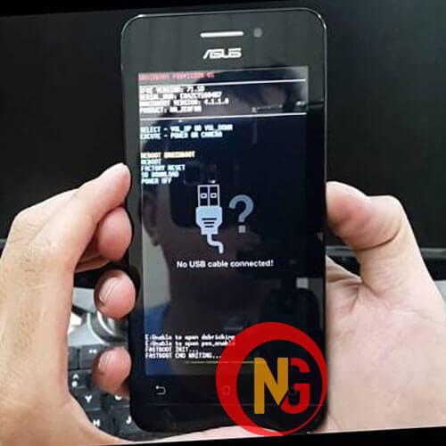 Chạy phần mềm điện thoại Asus