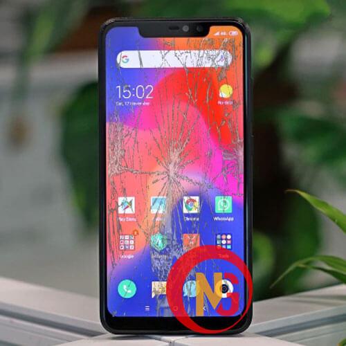 Màn hình Xiaomi Redmi Note 6 Pro bể nát