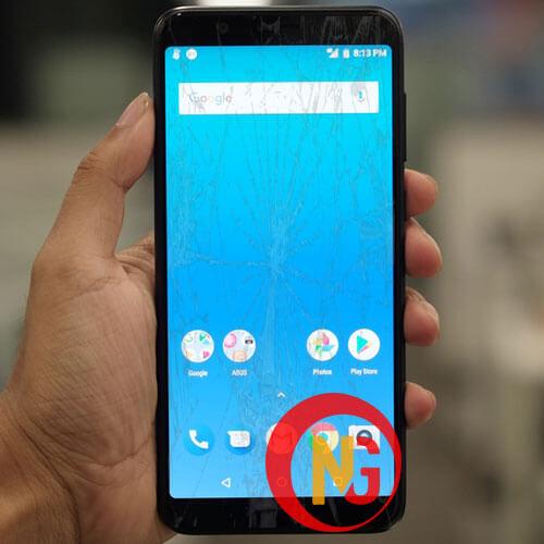 Màn hình Asus Zenfone Max Pro M1 bị trầy xước