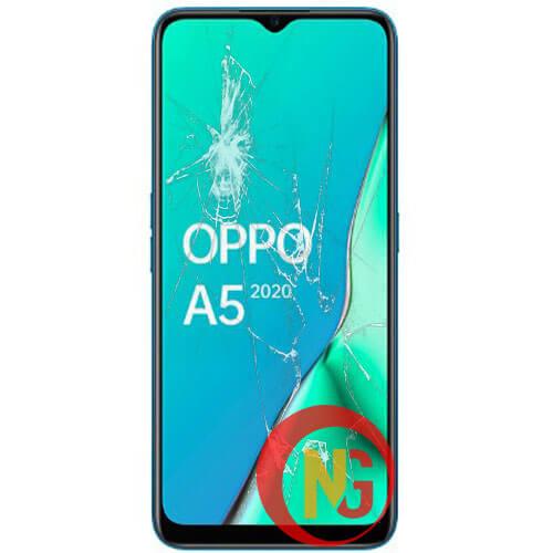 Mặt kính Oppo A5, A5s bị bể