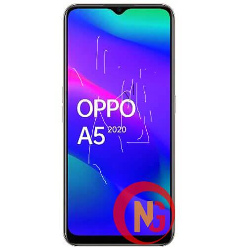 Mặt kính Oppo A5, A5s bị nổi bọt khí, hở keo