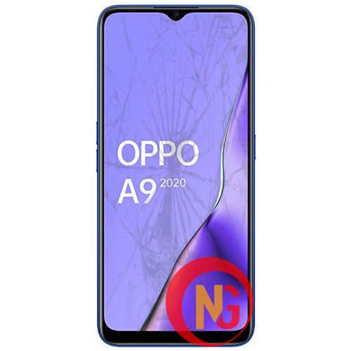 Mặt kính Oppo A9 bị trầy xước