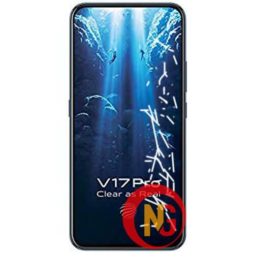 Mặt kính Vivo V17 Pro bị hở keo nổi bọt li ti, ố vàng