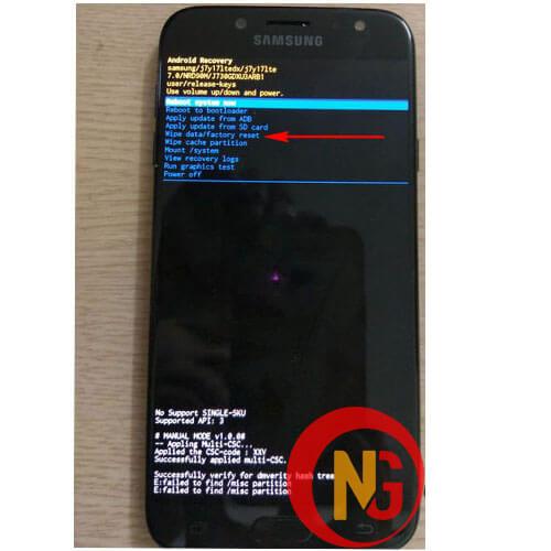Khôi phục điện thoại Android