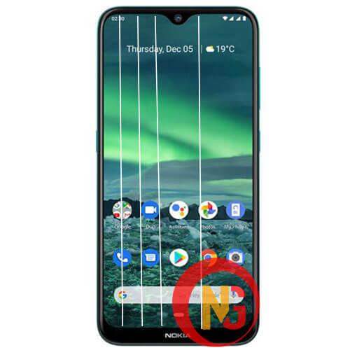 Màn hình Nokia 2.2, 2.3 bị sọc, nhiễu màu