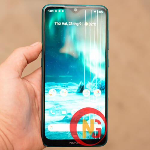 Màn hình Nokia 7.2 bị sọc, nhiễu màu
