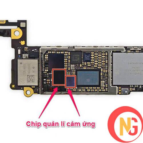 Điện thoại bị va đập làm lỗi IC cảm ứng