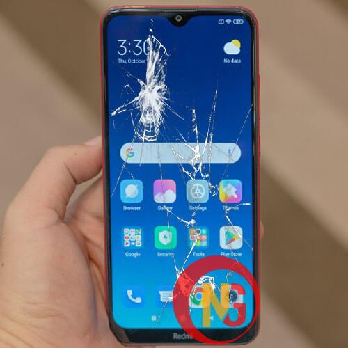 Mặt kính Xiaomi Redmi 8, 8A bị bể vỡ