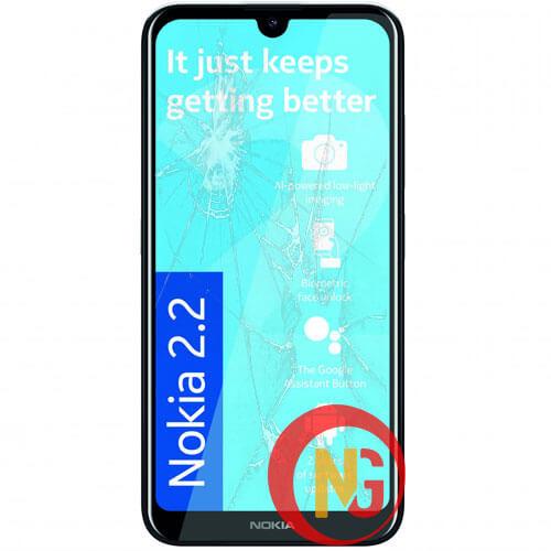 Mặt kính Nokia 2.2, 2.3 bị trầy xước