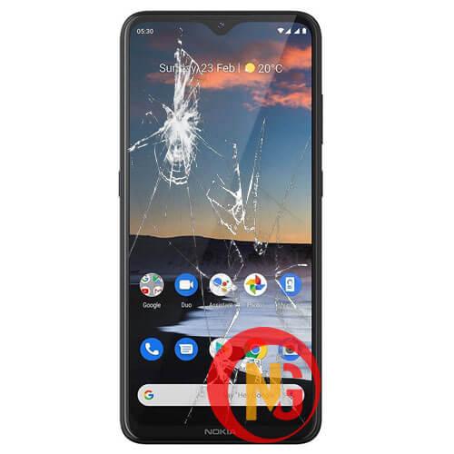 Mặt kính Nokia 5.3 bị bể vỡ, rạn nứt