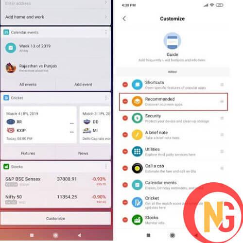 Gỡ bỏ ứng cho Xiaomi Redmi Note 8, 8 Pro
