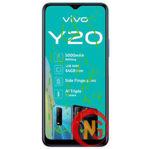 Mặt kính Vivo Y20 bị bụi, bọt khí li ti