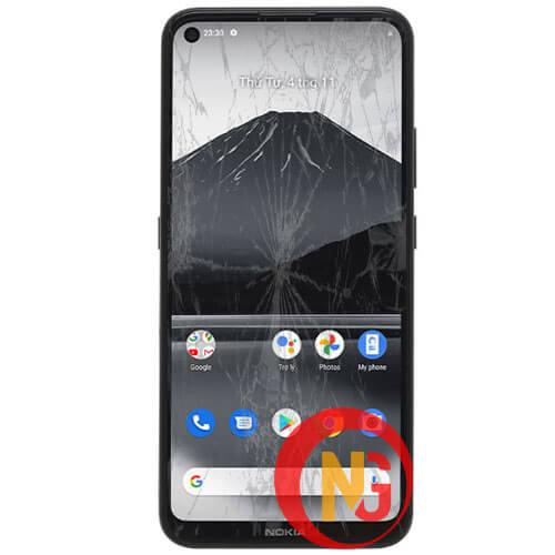 Mặt kính Nokia 3.4 bị trầy xước