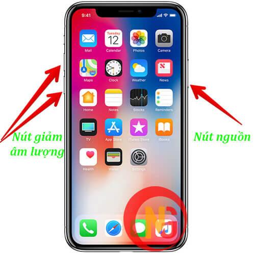Tắt nguồn khởi động lại đối với Iphone đời mới