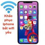 Cách khắc phục Iphone bắt wifi yếu
