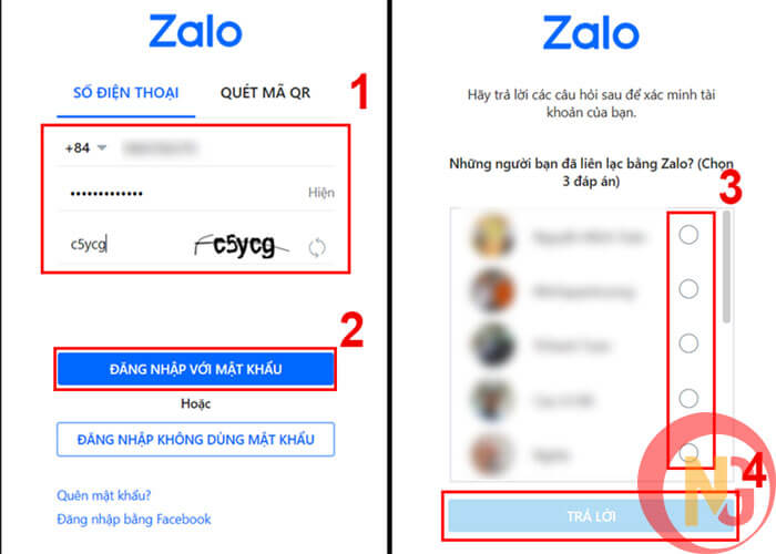 Đăng nhập Zalo cho PC