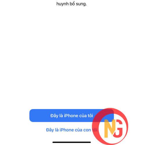 Chọn đây là Iphone của tôi