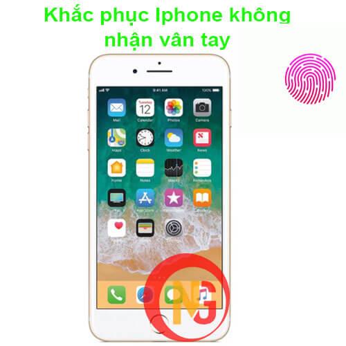 Khắc phục Iphone không nhận vân tay