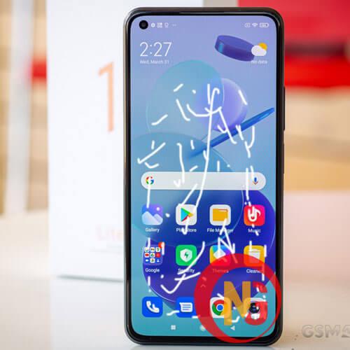 Mặt kính Xiaomi bị hở keo, ố vàng