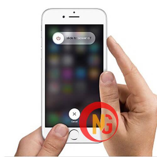 Reset khởi động lại iPhone