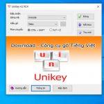 Bộ gõ tiếng việt Unikey